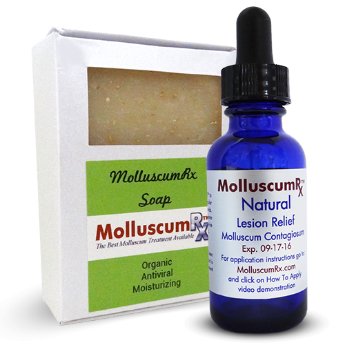 MolluscumRx Soap & 1Bottle