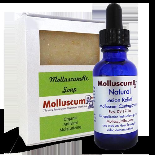 MolluscumRx Soap & 1Bottle