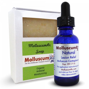 MolluscumRx - Soap & 1 Bottle