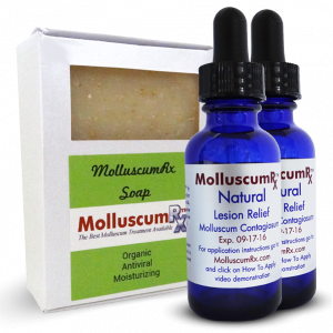 MolluscumRx - Soap & 2 Bottles