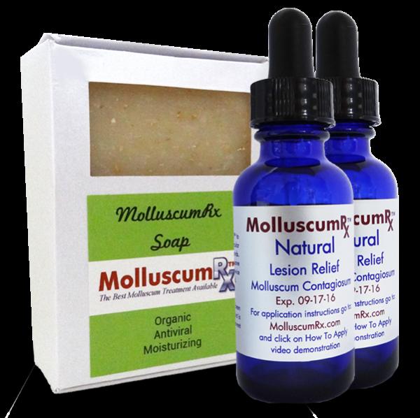 MolluscumRx - Soap & 2 Bottles
